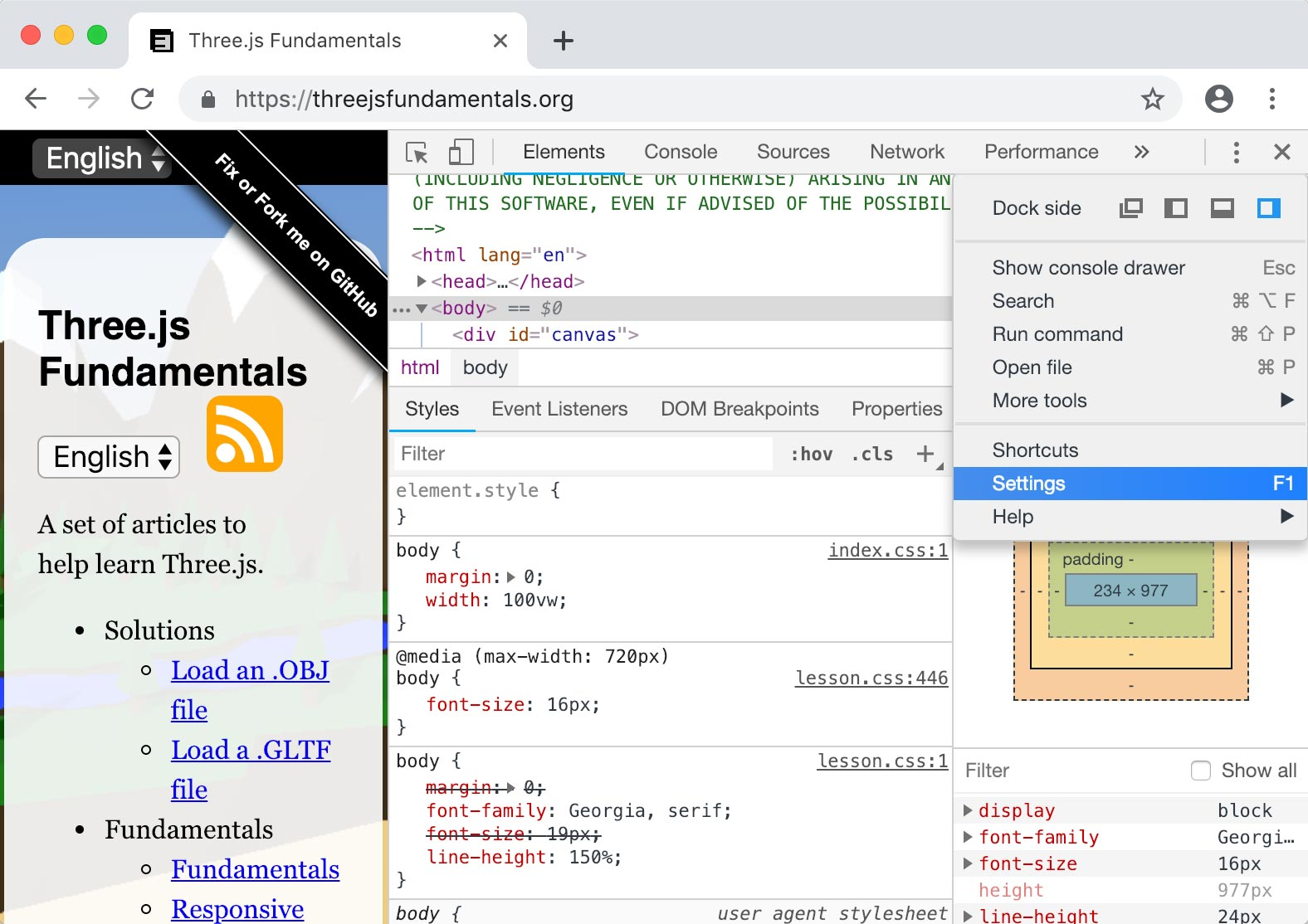 Three js Debugging JavaScript